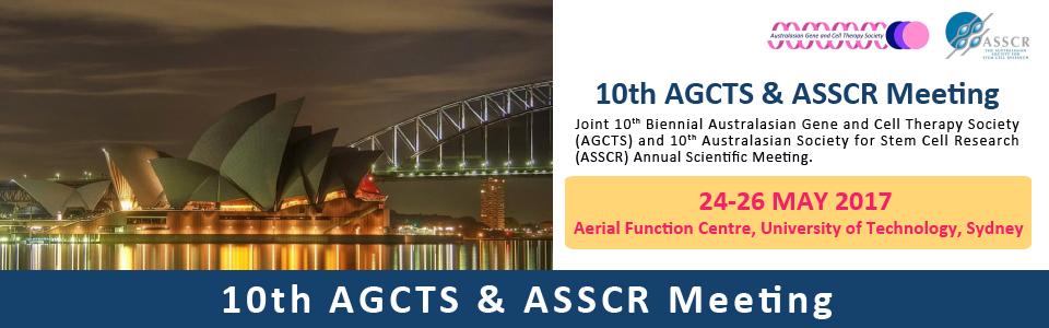 AGTCS & ASSCR Meeting 2017